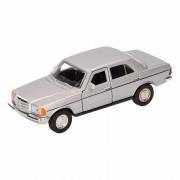 Mercedes Speelgoed zilveren Mercedes-Benz W123 16 cm