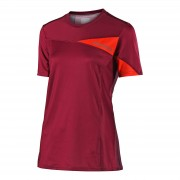 Lee Troy Lee Designs Women's Skyline Short Sleeve Jersey - Burgundy - L - Burgundy