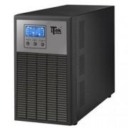 ITEK UPS WINPOWER 3000 - 3000VA/2400W, ON LINE, 6 BATT, LCD, 4XSHUCKO, AVR, RS232, USB. T BLOCK