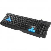 Tastatura gaming, FURY Hornet, USB, Layout US, negru