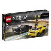 Lego Speed Champions - Dodge Challenger SRT Demon de 2018 y Dodge Charger R/T de 1970