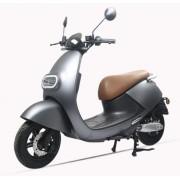 Scuter Electric LVNENG S3, Viteza Maxima 45 Km/h, Autonomie 80 Km, Motor 1.75 KW Bosch (Gri Mat)