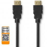 Nedis CVGP34050BK30 Premium HDMI - HDMI kábel 3m - fekete