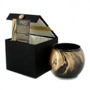 Esque Polished Globe Candle - Ebony 4 inch Esque Свещ в Рисувана Чаша - Ebony