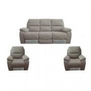 Set 5280 GRI canapea 3 locuri cu 2 reclinere manuale si 2 fotolii cu reclinere manuale