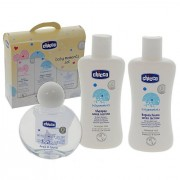 Chicco baby moments set confezione bagnoschiuma 200 ml - shampoo 200 ml - acqua di colonia 100ml