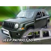 Deflektory komplet 4 ks pre JEEP Patriot , 2006-