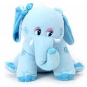 Tickles Miss Blue Elephant Stuffed Soft Plush Toy Love Girl Kid Birhtday 30 cm
