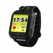 Ceas inteligent pentru copii WONLEX GW1000 3G Negru (Digi) cu GPS, telefon,localizare WiFI si monitorizare spion