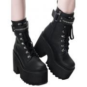 chaussures à semelles compensées pour femmes - KILLSTAR - KSRA001494