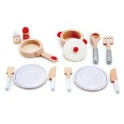 Hape Cook & Serve Set Play Kitchen, Multicolor