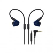 HEADPHONES, Audio-Technica ATH-LS50iSNV, Microphone, Blue