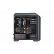 "CARCASA COOLER MASTER. MasterCase Pro 3, window version, mini-tower, mATX, 2* 140mm fan (incluse), I/O panel, black ""MCY-C3P1-KWNN"""