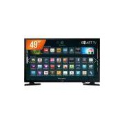 Smart TV LED 49'' Full HD Samsung 49J5200 2 HDMI 1 USB Wi-Fi Integrado Conversor Digital