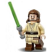 LEGO Star Wars: The Phantom Menace - Qui-Gon Jinn Minifigure with Lightsaber 2017