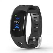 HEGUANGWEI Recuerde monitoreo DM11 0.96 pulgadas IPS Pantalla Pantalla Bluetooth Smart Watch, IP68 a prueba de agua, podómetro de apoyo / monitor de frecuencia cardíaca / monitor de presión arterial / recordator