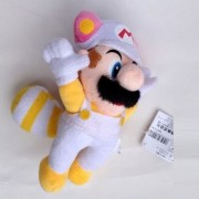 "Super Mario Bros Plush 8.7"" / 22cm Flying White Mario Doll Stuffed Animals Cute Soft Anime Collection Toy"