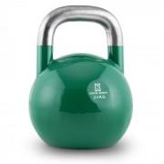 Compket 24 Kettlebell Bola de Peso 24 kg Aço Halterofilia Musculação Exercício Fitness Verde
