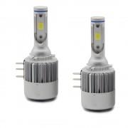 2 ampoules led H15 haute puissance 36W 7600lumens - Blanc