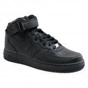 Nike Air Force 1 Mid 07 315123-001 / Zwart