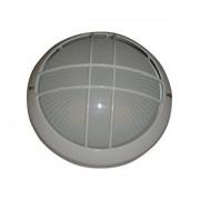 VT-331B LAMPA EXTERIOR CU GRILA ( 1xE27 max. 100W ) culoare: ALB