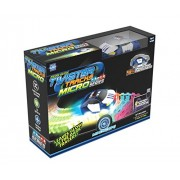 mindscope Twister Tracks Micro neon Glow in The Dark 11 feet Flexible Assembly Track Emergency Series Rechargeable car