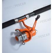 Combo Spinning Tica, Lanseta Zatara-O 1.98m/10-20lbs/2buc + Mulineta Zatara LBXT2000, 7 Rulmenti
