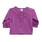 Bluza fete purple Amelia (Marime: 3 luni)