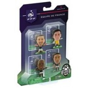 Figurine SoccerStarz France 4 Figurine Clichy Lloris Remy And Ribery 2014