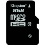 Kingston 8 GB MicroSDHC Class 10 Memory Card