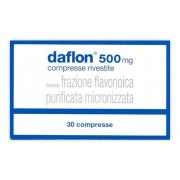 Servier Italia Spa Daflon 500 Mg Compresse Rivestite Con Film 30 Compresse