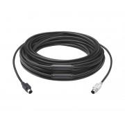 Logitech Extender Cable for Group 15m Black 939-001490