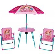 Paw Patrol Trädgårdsbord med Stolar, Rosa