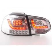 FK-Automotive LED feux arrières pour VW Golf 6 (type 1K) An 08-, chrome