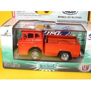Qiyun M2 Machines Auto Trucks R34 Red 1960 Ford C 600 Custom Truck 1 64 Real Rubber
