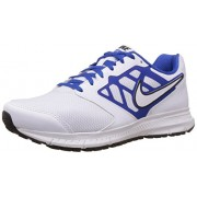 Nike Men's Downshifter 6 Msl White,Game Royal,Black Running Shoes -9 UK/India (44 EU)(10 US)