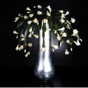 Aranjament floral DUBAI, argintiu 205cm