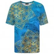 Mr. Gugu & Miss Go Gold Boho Unisex Short Sleeved T Shirt TSH1179