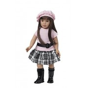 Starpath Brunette Girl Doll 18' Vinyl, Included Custom Fairy Tail e-Book Starring you and your Star Path Doll. Fits American Girl Clothing