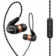 Pioneer Hi-Fi špuntová sluchátka Pioneer SE-CH9T-K 1500383, černá, měděná