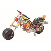 Lightahead Assembly Metal Motorcycle Model Kits Toy Mo Bike to Assemble. Puzzles Set for Kids