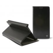 Bolsa Em Pele Folio Ksix Stand Para Samsung Galaxy Alpha - Preto