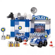 Set constructii Ecoiffier Sectia de politie