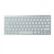 X5 Bluetooth V3.0 Teclado w / 78-Key para APPLE? Dell + Mas - Blanco