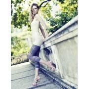 Omero - Capri-leggings with transparent details Kiele