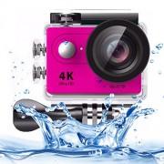 MOBILEACCESSORIES TENGLIN H9 4K Ultra HD1080P 12MP 2 Pulgadas Pantalla LCD con WiFi Cámara for Deportes, Lente Gran Angular de 170 Grados, 30m a Prueba de Agua (Negro) Sports Camera