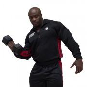 Gorilla Wear Track Jacket Black/Tango red - XXL/XXXL