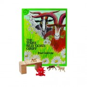 Primary Concepts, PC-1604 the Three Billy Goats Gruff 3-D Children Play Book
