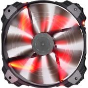 Ventilator Deepcool Xfan 200, 200mm (Led Rosu)