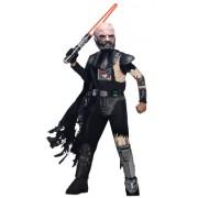 Star Wars Childs Deluxe Darth Vader with Battle Damage Costume, Medium
